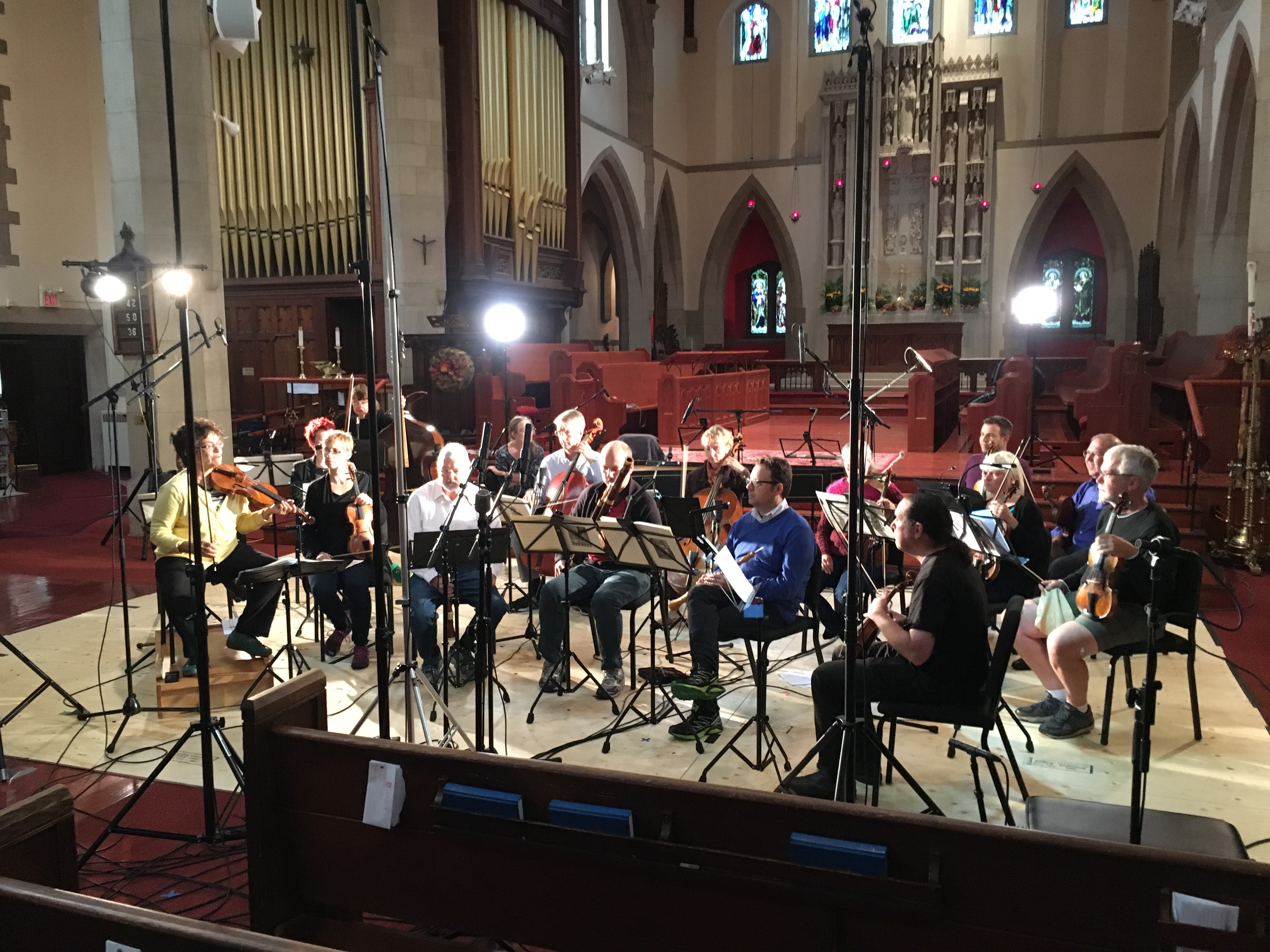 Tafelmusik in session